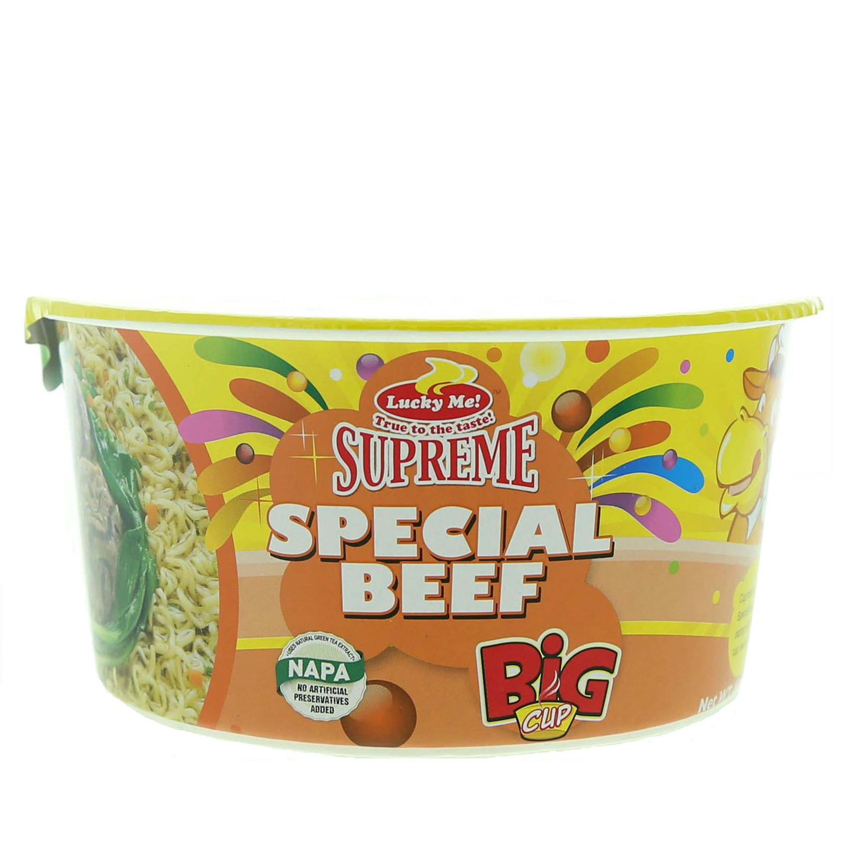 LUCKY ME CUPS NOODLE BEEF 70G