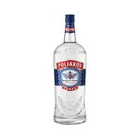 Poliakov Premium 37.5% Alcohol Vodka 450CL X2