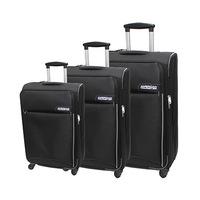 American Tourister Vienna Spinner Luggage Bag Set Black