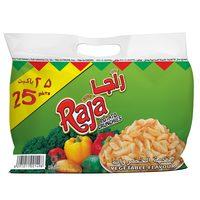 Raja Potato Crunchies Vegetable Flavor 15gx25