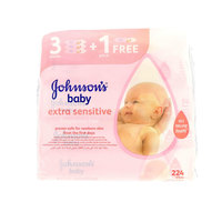 Johnson'S Baby Wipes Extra Sensitive 224 Wipes