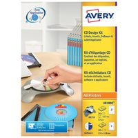 Avery CD Kit With Applicator AB1800