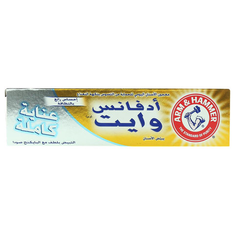 Arm-&-hammer-Advance-White-Complete-Care-Toothpaste-115g