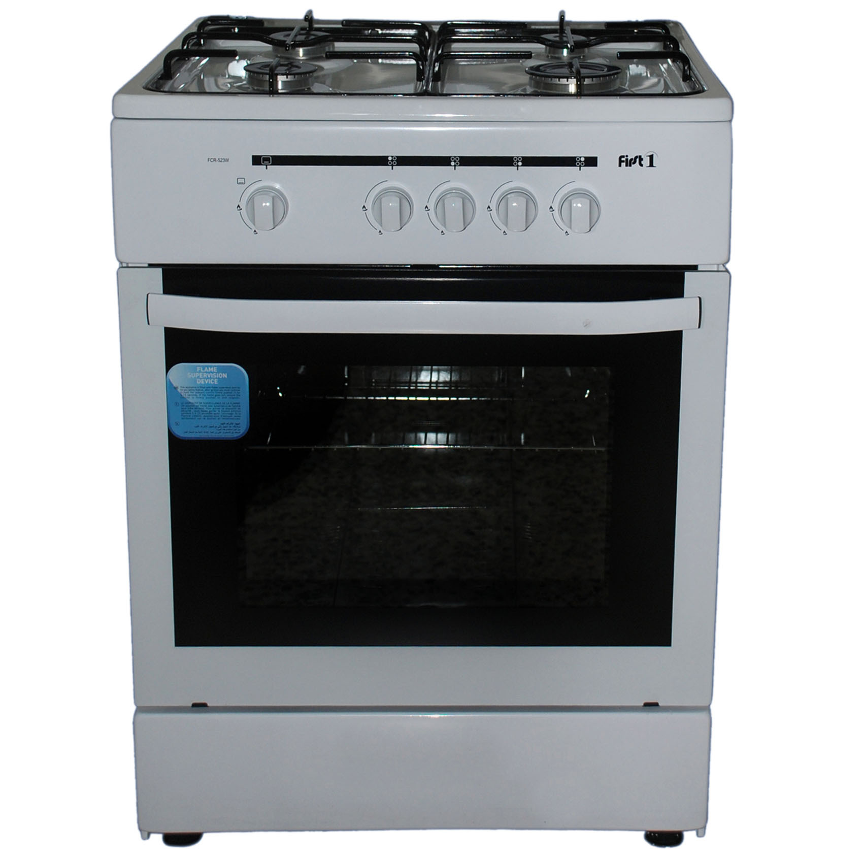 FIRST1 COOKER FCR523-W 60X60CM