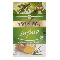 Twinings Infuso Rooibos, Ginger & Mint 20 Tea Bags