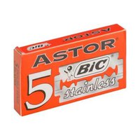 Bic Astor Stainless Double Edge Razor Blades Pack Of 5