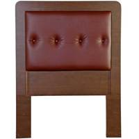 King Koil Headboard York6 Teak Red 150cm + Free Installation