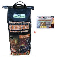 Paradiso Charcoal 4kg+Somagic 32 Firelighter Cubes
