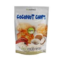 Econuterna Organic Coconut Chips 200GR