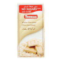Torras Sugar Free White Chocolate 75g