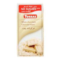 Torras Sugar Free White Chocolate 75g