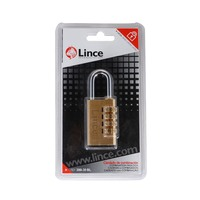 Lince Combination Brass Padlock 30 Mm 200-30