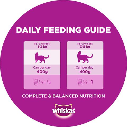 WHISKAS®-Mince-Lamb-Turkey-&-Veg-Wet-Cat-Food-Can-400g