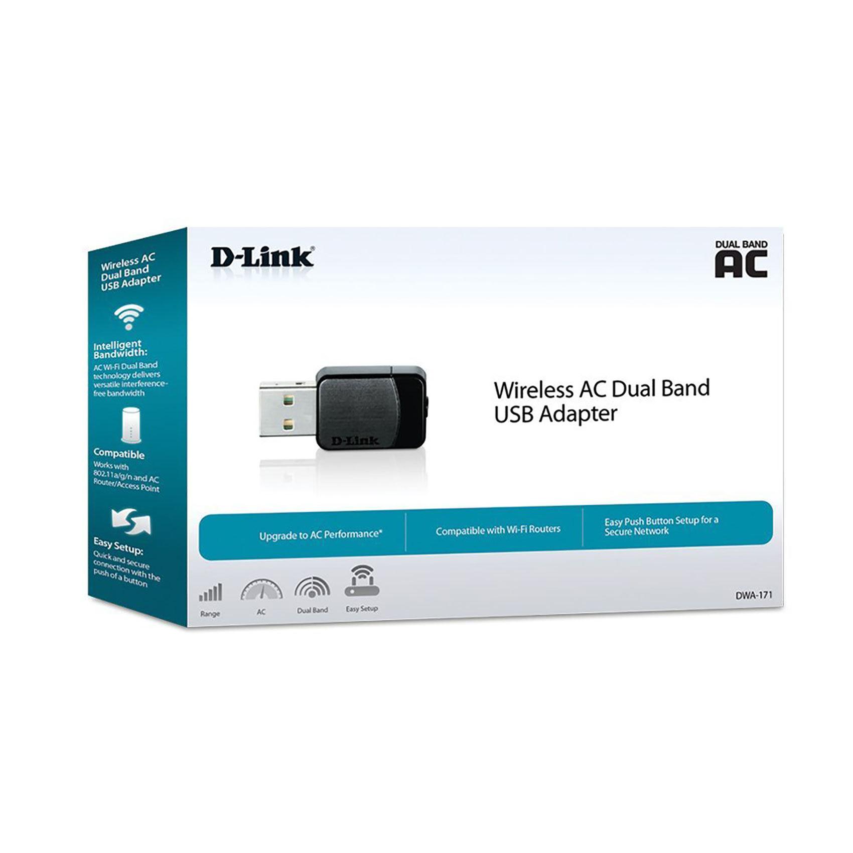 D-LINK W/L USB ADAP 11AC DWA-171