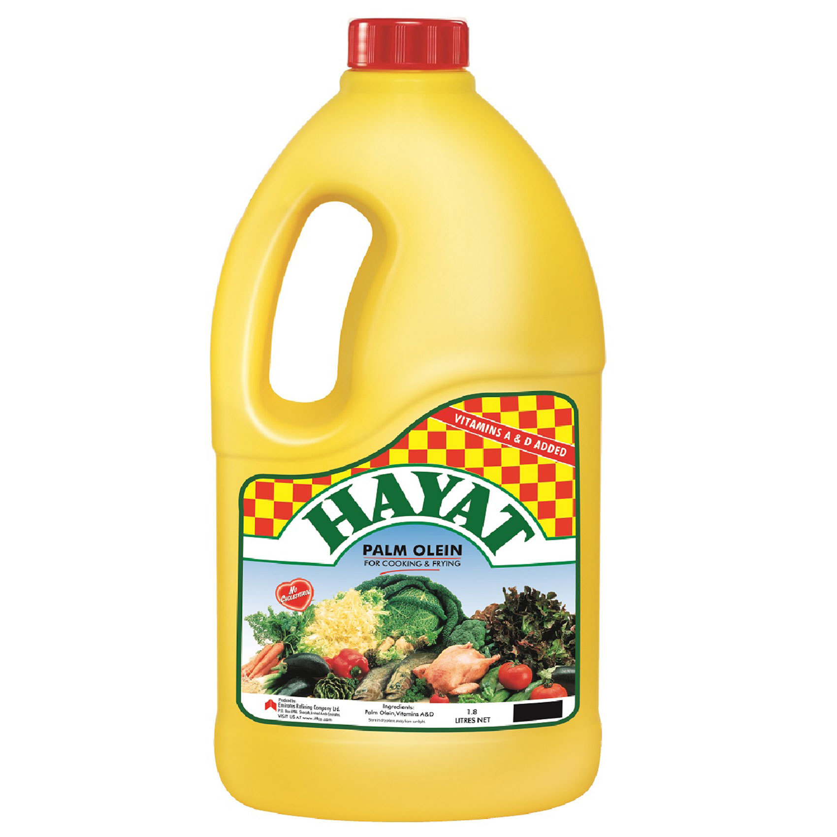 HAYAT VEGETABLE OIL 1.8L