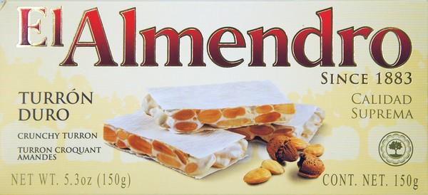 EL ALMENDRO TURRON DURO 150G