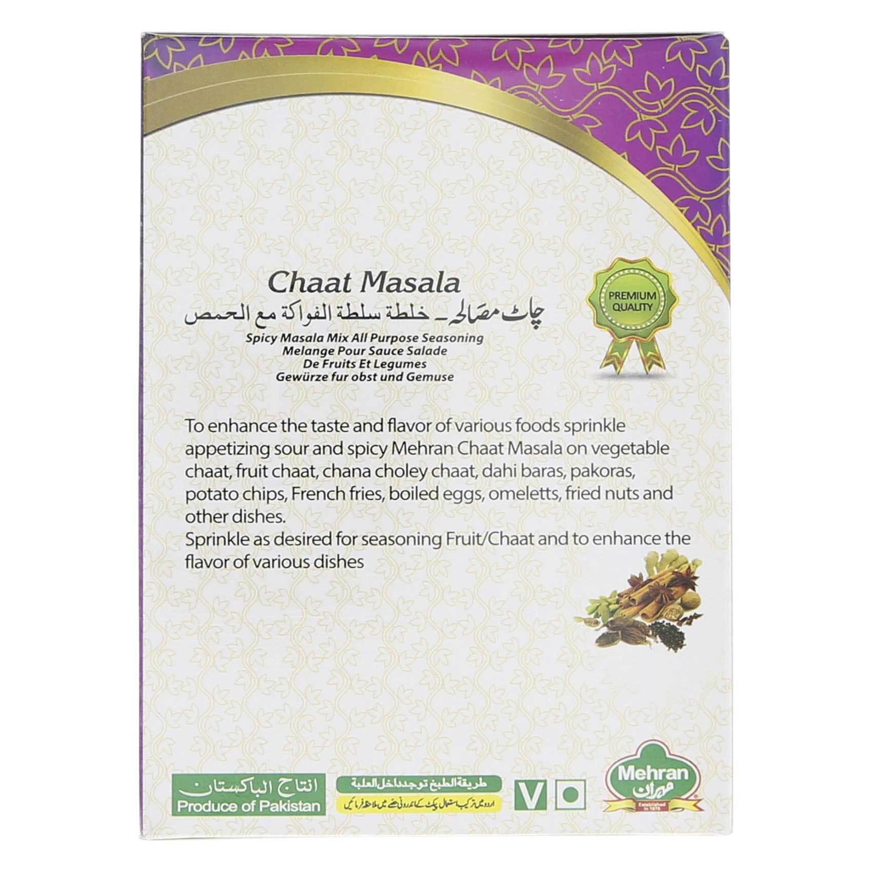 MEHRAN CHAAT MASALA 50GR