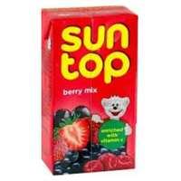 سن توب عصير بنكهة التوت مشكل 250 مل