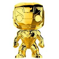 Funko Pop Marvel: Marvel Studios 10 - Iron Man (Gold Chrome) Collectible Figure