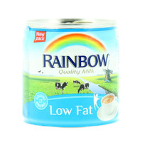 Rainbow Low fat Evaporated Semi Skimmed Milk 158ml
