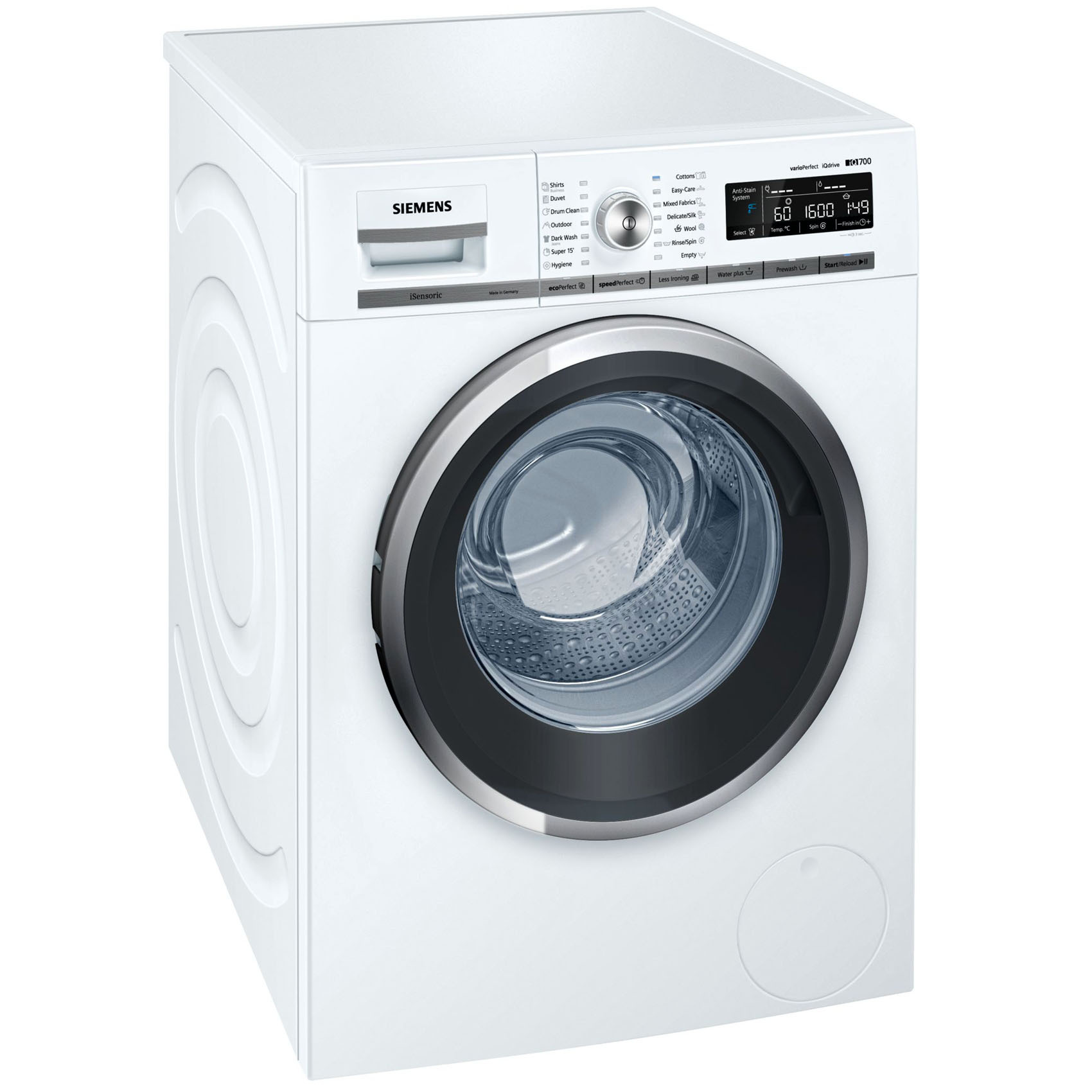 SIEMENS WASHER WM16W560GC 9KG