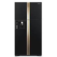 Hitachi 660 Liters Side by Side Fridge RW660PUK3GBK
