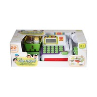 Electronic Cash Register Included 1 Cash Register With Real Calculator, Batteries Included Age 3 Years