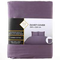 TEX Quilt Cover King Violet