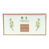 Yardley Sandalwood Luxury Soap 100gx3