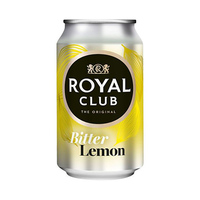 Royal Club The Original Soft Drink Bitter Lemon 33CL
