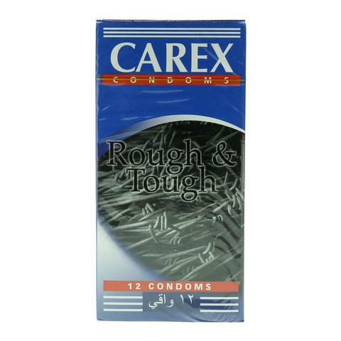 Carex-Rough-&-Tough-12-Condoms