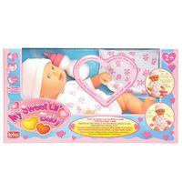 """Lotus My Sweet Lil' Baby Electronic Baby Doll 10"""" Pink"""