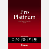 Canon Photo Paper PT 101 Pro Platinum A3 20 Sheets