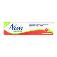 Nair Underarm & Sensitive Areas Hair Removal Cream 110ml