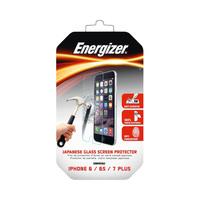 إنيرجايزر شاشة حماية زجاجية متوافقة مع أيفون 7 لون أسود