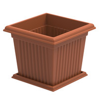 Cosmo Planter Square With Tray 10Ltr