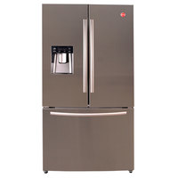 HOOVER French Door HFD536L-S 630L STEEL FRIDGE