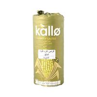 Kallo Lightly Salted Low Fat Corn Cakes 130 Gram