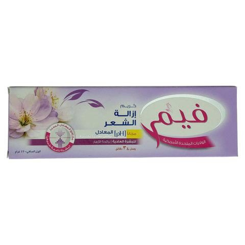 Fem-Normal-Skin-Hair-Removal-Cream-With-Lotion-120G