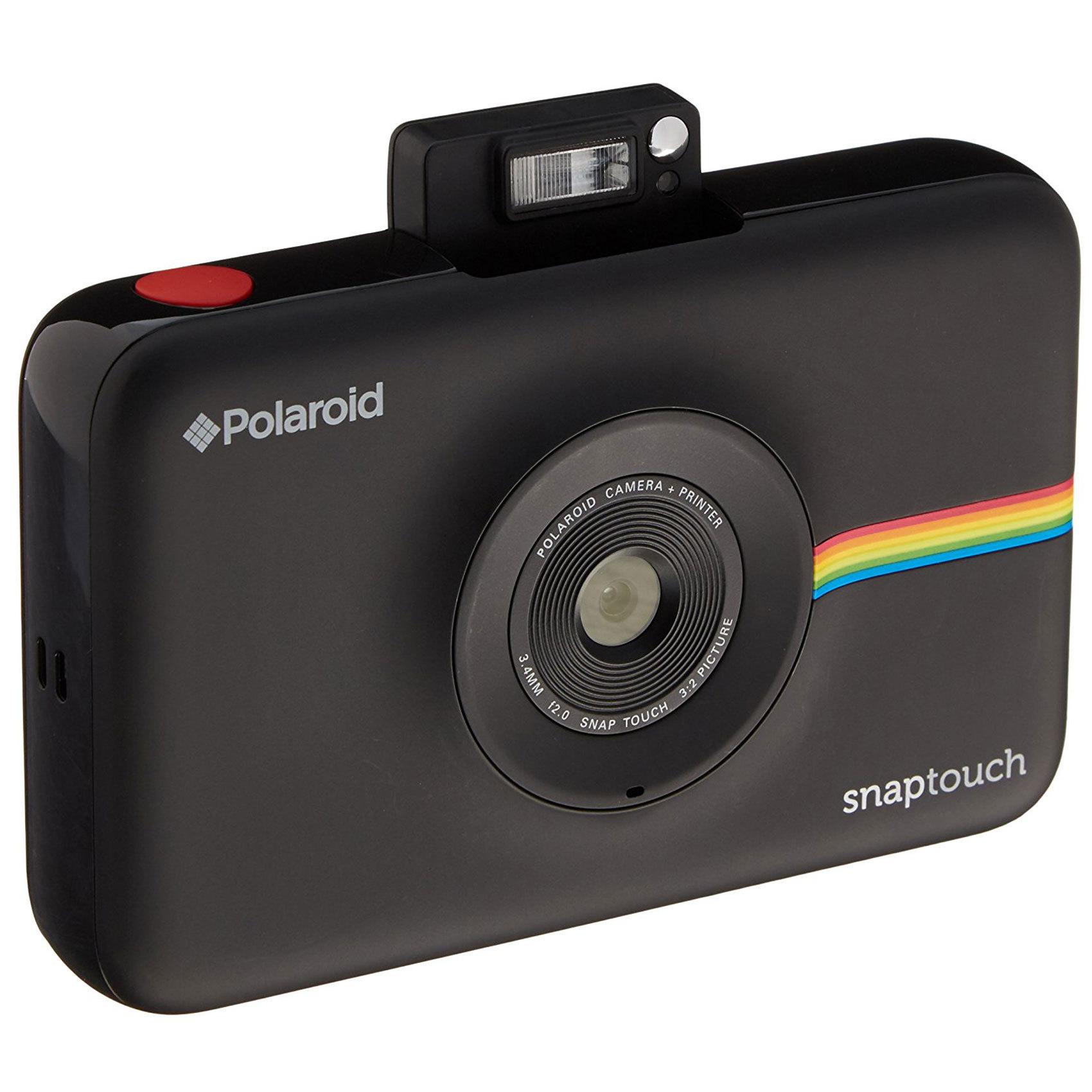 buy polaroid camera snap touch black online in uae carrefour uae