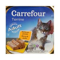 Carrrefour Terrine Riche En Poulet Pour Chat 100GR