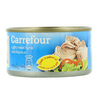 Carrefour Light Meat Tuna Chunks in Sunflower Oil 185 g