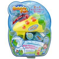 Power Joy Bubble Fun 2 in 1 Water & Bubble Blaster & Squirter
