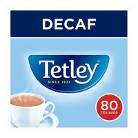 Tetley Decaf Tea 80 Tea Bags