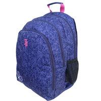 """Janboots Splash Blue Backpack 18"""""""
