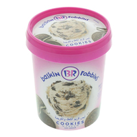 Baskin Robbins Ice Cream Cookies & Cream 500ml