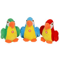 Cuddles Parrot Pirate With Music 20Cm