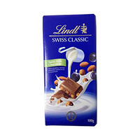 Lindt Excellence Milk Chocolate With Raisin Nut 100GR