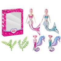 Power Joy Leila Mermaid Doll 30 cm
