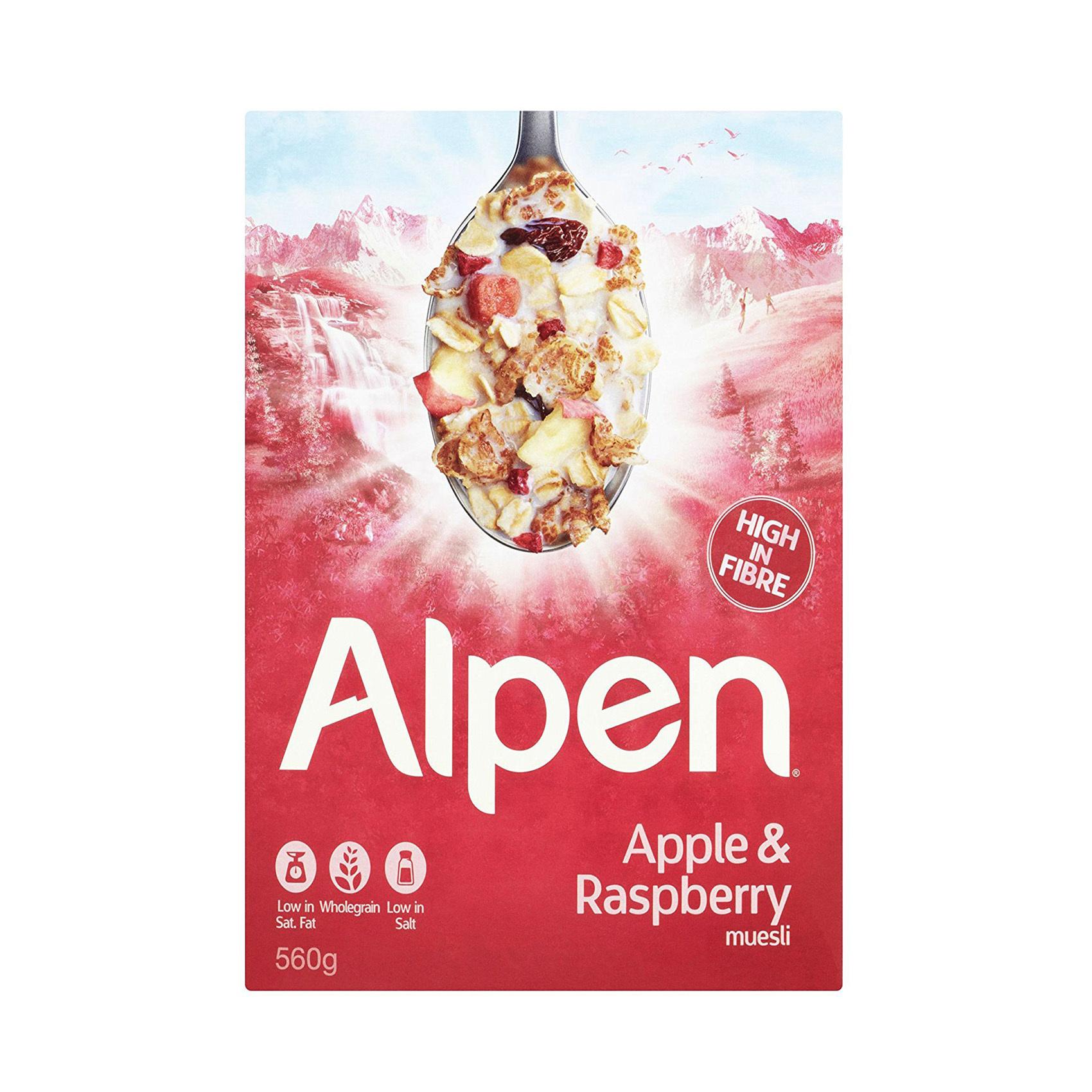 ALPEN RASPBERRY 560GR